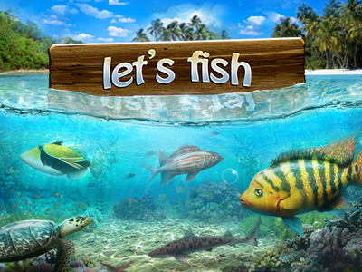 Let's Fish games ES